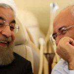 روحانی و ظریف خنده روحانی عملکرد دولت سیاست خارجی دولت اقتصاد دولت