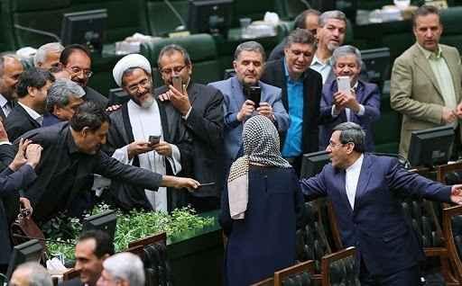 سلفی حقارت سلفی جنجالی مجلس دهم سلفی حقارت اثر احمد مازنی و دیگران