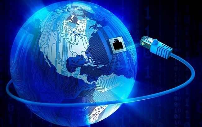 فضای مجازی اینترنت اهمیت شبکه های اجتماعی پیام رسانه نت شبکه جهانی دهکده جهانی