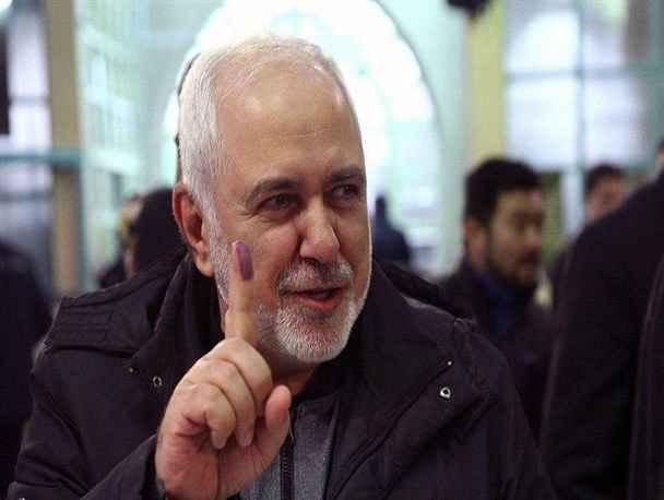 محمد جواد ظریف مردم نمیگذارند کسی برایشان تصمیم بگیرد وزیر امور خارجه رأی