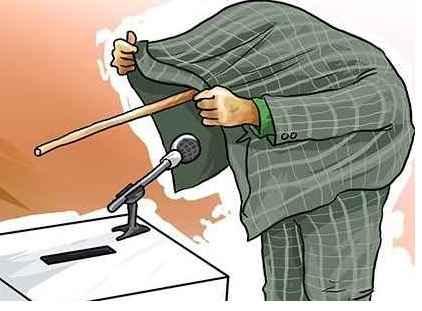 کاریکاتور نامزدهای دروغگو