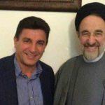 امیر قلعه نوعی و سید محمد خاتمی